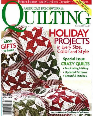 American Patchwork & Quilting, December 2007