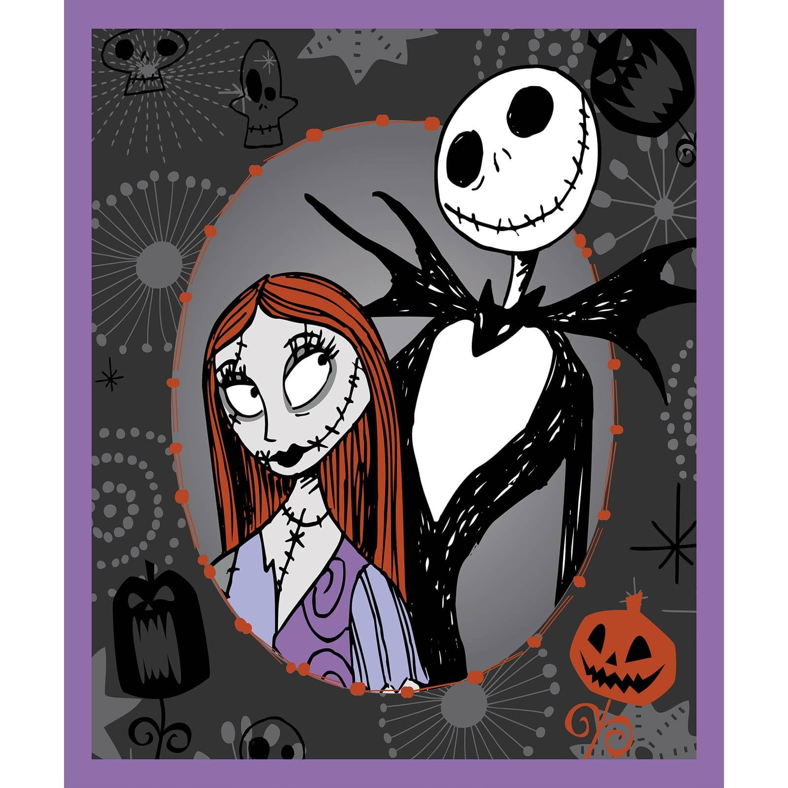 Nightmare Before Christmas Panel | The Quilting Place