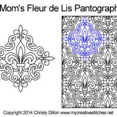 Mom's Fleur de Lis