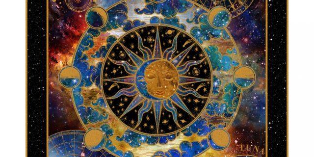 Cosmos – Panel Space Solar Sun Hippie